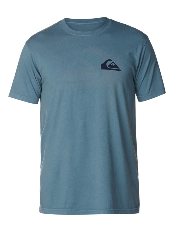 0 Blocked Logo Slim Fit T-Shirt  AQYZT03046 Quiksilver