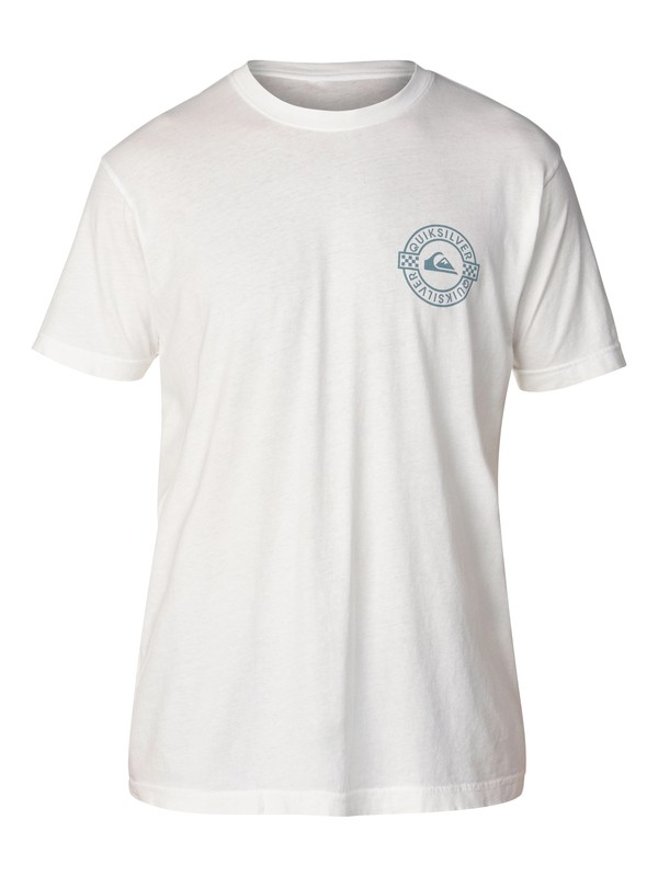 0 Better Circle Slim Fit T-Shirt White AQYZT03047 Quiksilver