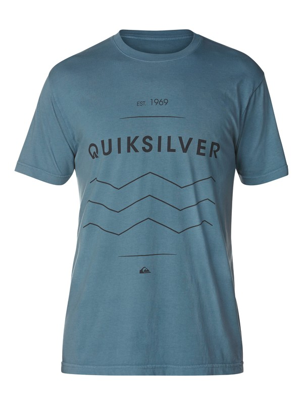 0 Just In Time Slim Fit T-Shirt  AQYZT03049 Quiksilver