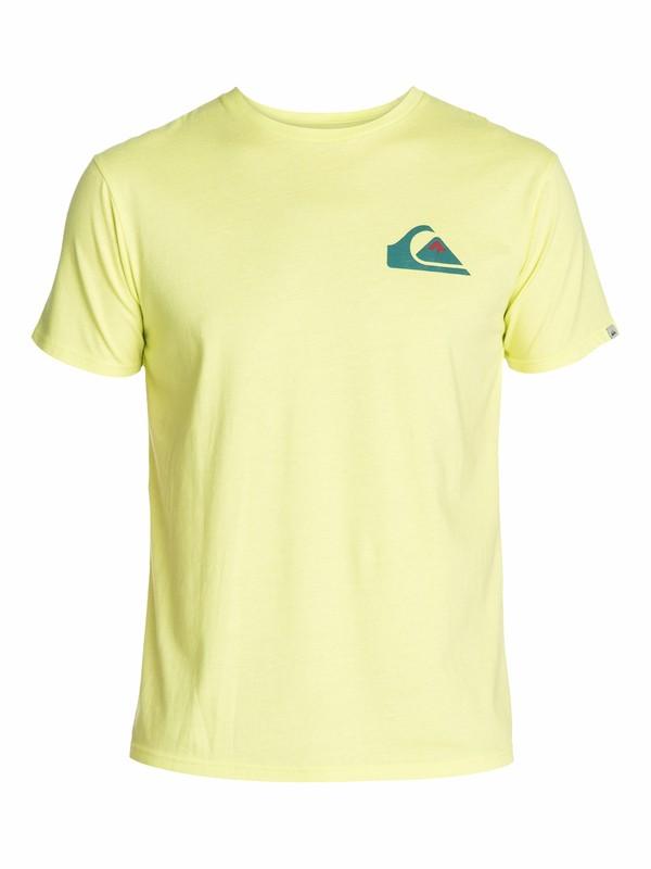 0 Impact Slim Fit T-Shirt  AQYZT03050 Quiksilver