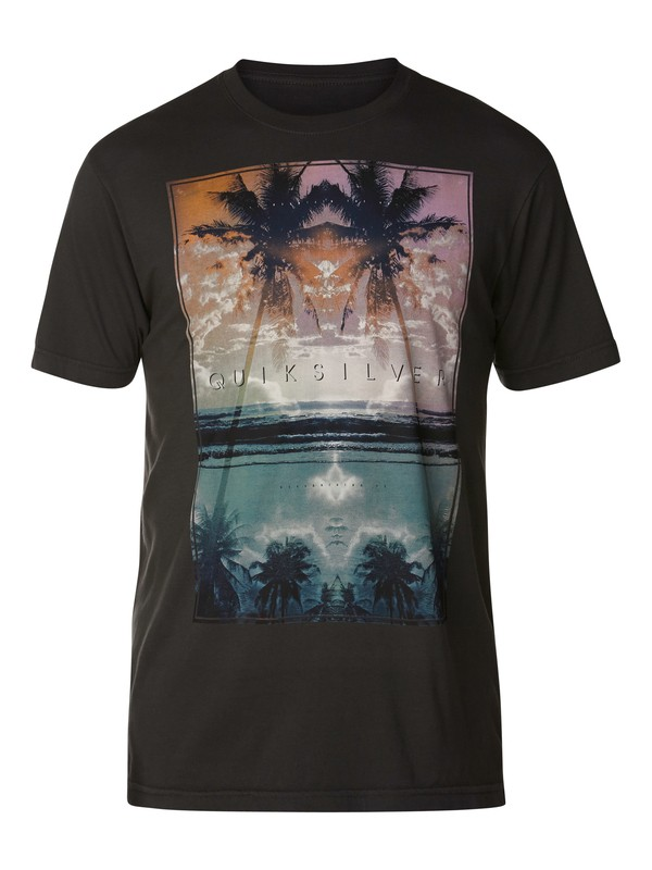 0 Ripples Slim Fit T-Shirt  AQYZT03052 Quiksilver