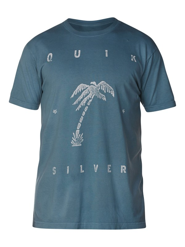0 Big Palm Slim Fit T-Shirt  AQYZT03053 Quiksilver