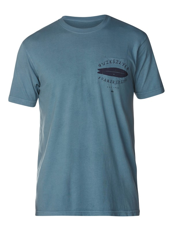 0 Up The Middle Slim Fit T-Shirt  AQYZT03058 Quiksilver