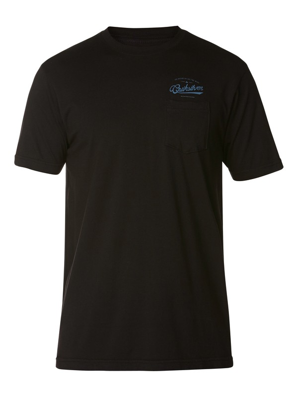 0 Be Right Back Slim Fit T-Shirt  AQYZT03059 Quiksilver