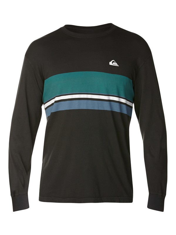 0 Roots Slim Fit Long Sleeve T-Shirt  AQYZT03064 Quiksilver