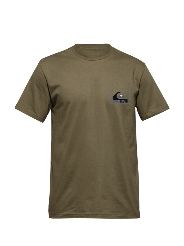 0 Cheveron Box T-Shirt  AQYZT03099 Quiksilver