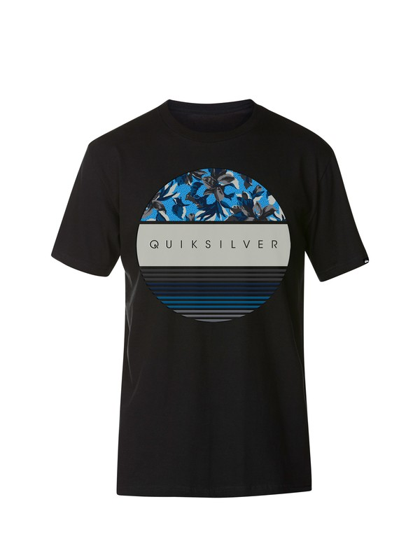 0 Colour Wheel T-Shirt  AQYZT03103 Quiksilver