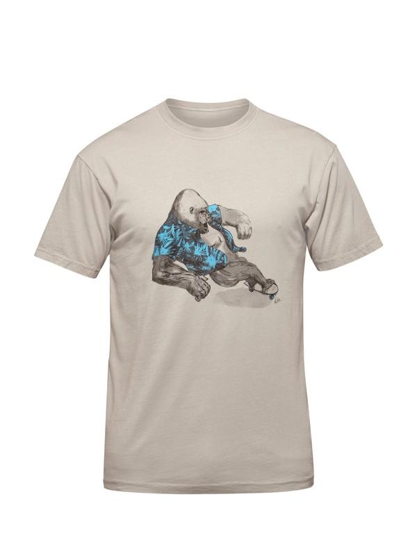 0 Big Shred Modern Fit T-Shirt  AQYZT03135 Quiksilver