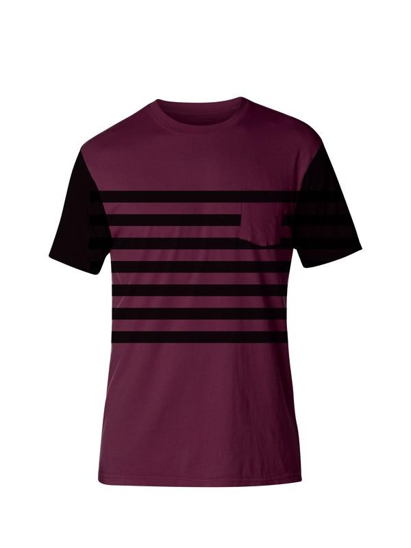0 Overflow Modern Fit T-Shirt  AQYZT03144 Quiksilver