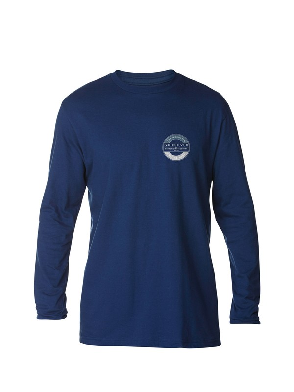 0 Frizbee Long Sleeve T-Shirt  AQYZT03152 Quiksilver
