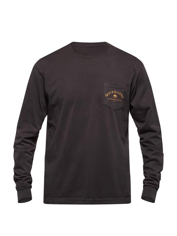 0 Well Fed Long Sleeve T-Shirt  AQYZT03157 Quiksilver