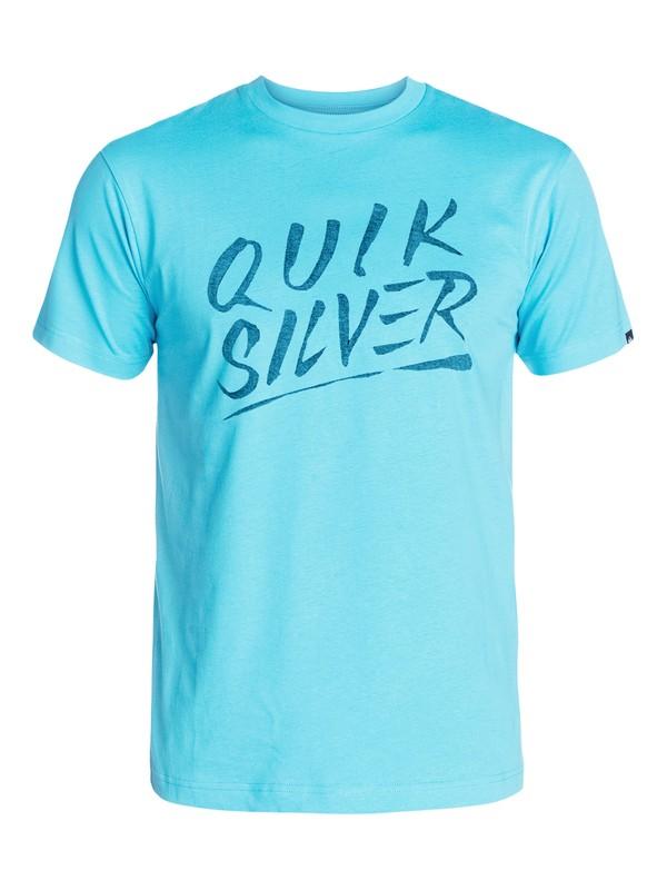 0 Slash Script T-Shirt  AQYZT03192 Quiksilver