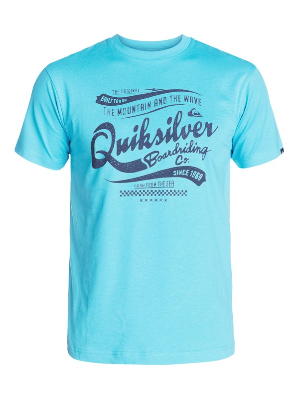 0 Barber Shop T-Shirt  AQYZT03199 Quiksilver