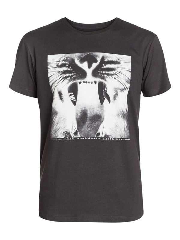 0 Java Tiger Modern Fit T-Shirt  AQYZT03205 Quiksilver