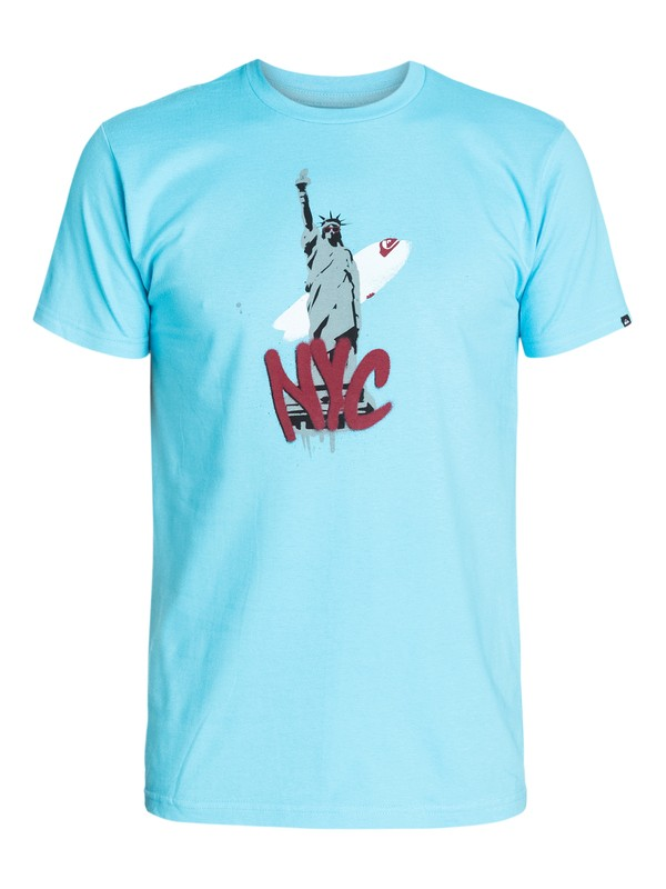 0 Liberty Nyc T-Shirt  AQYZT03269 Quiksilver