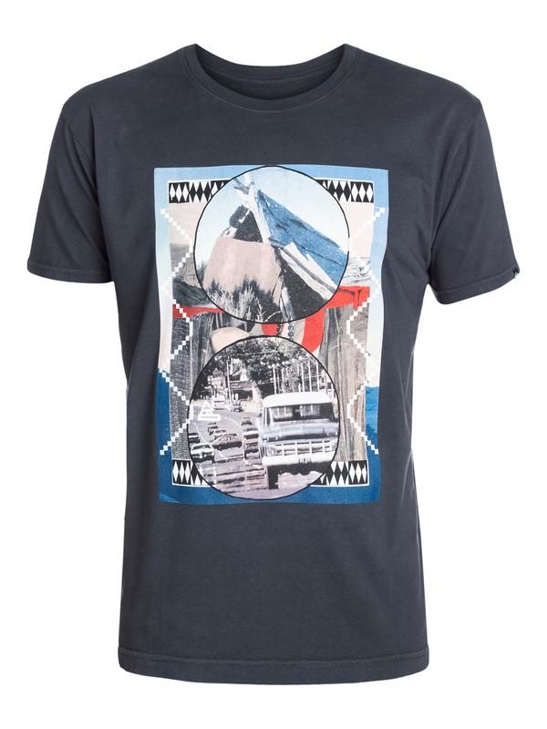0 Dirtroad Modern Fit T-Shirt  AQYZT03285 Quiksilver