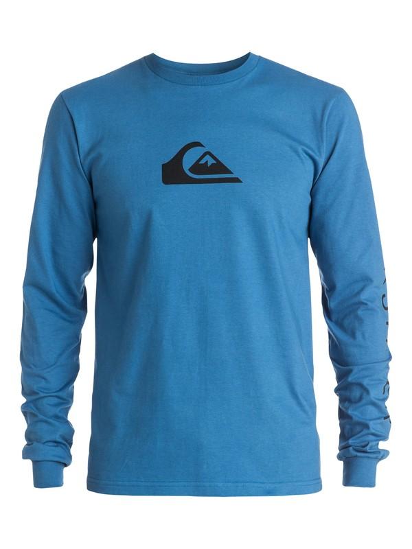 0 Logo Long Sleeve Tee  AQYZT03443 Quiksilver