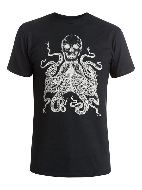 0 Octoskull T-Shirt  AQYZT03678 Quiksilver