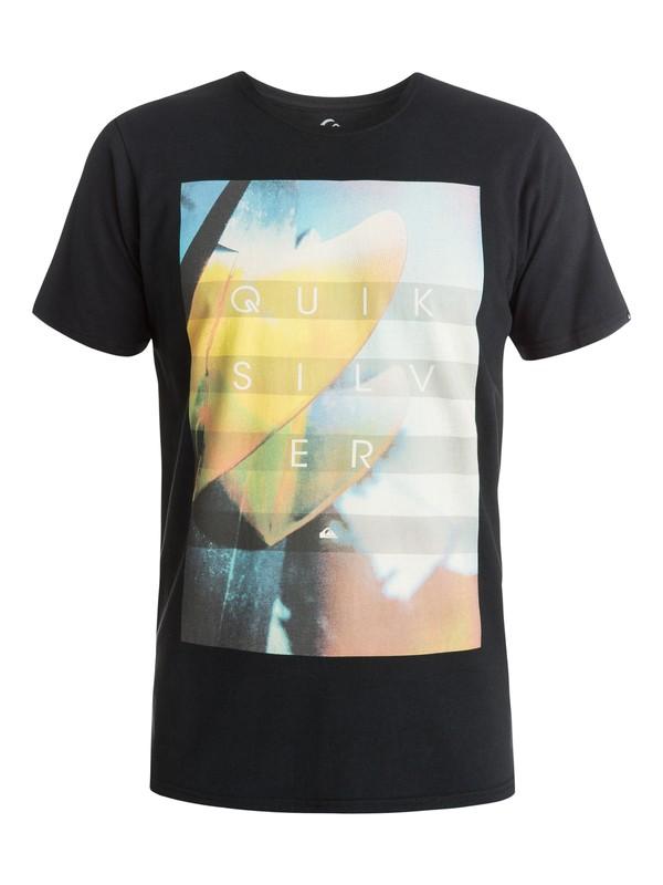 0 Hoyo Fins Modern Fit  T-Shirt  AQYZT03688 Quiksilver