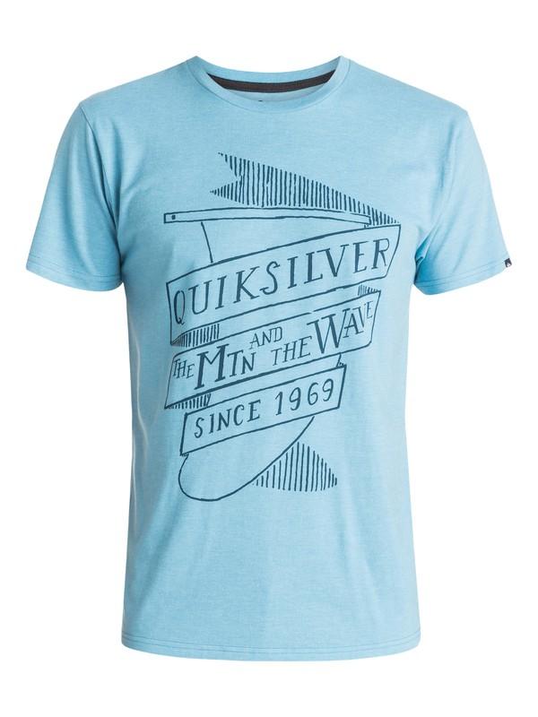 0 Engraved Fin Modern Fit  T-Shirt  AQYZT03690 Quiksilver