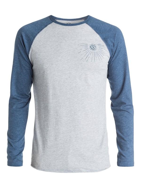 0 Dead Flat Long Sleeve T-Shirt  AQYZT03694 Quiksilver