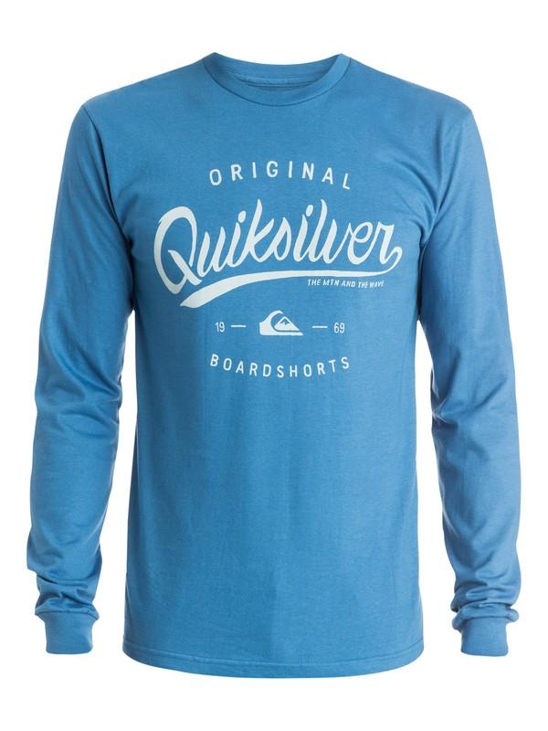 0 Home Run Long Sleeve T-Shirt  AQYZT03715 Quiksilver
