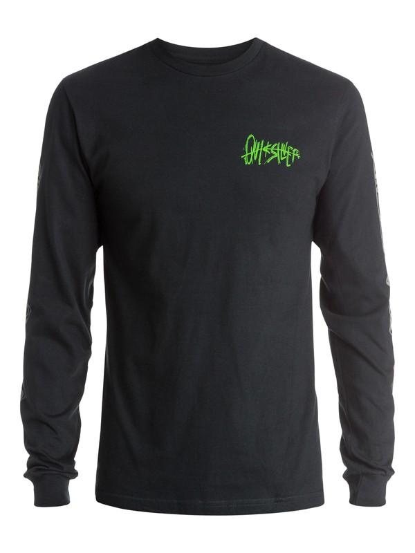 0 Neon Chaos Long Sleeve T-Shirt  AQYZT03716 Quiksilver