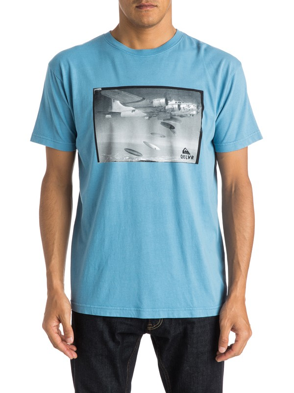0 Drop Boards Modern Fit Tee  AQYZT03777 Quiksilver