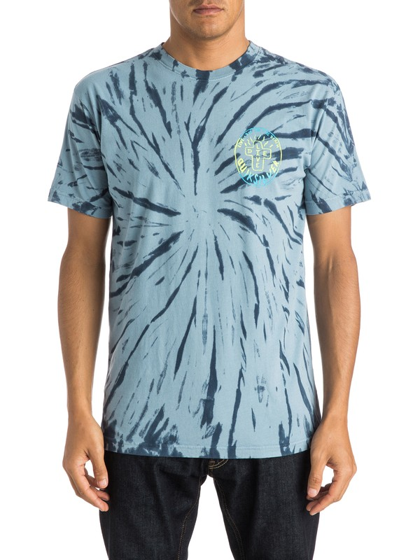 0 Live And Dye Modern Fit Tee  AQYZT03788 Quiksilver