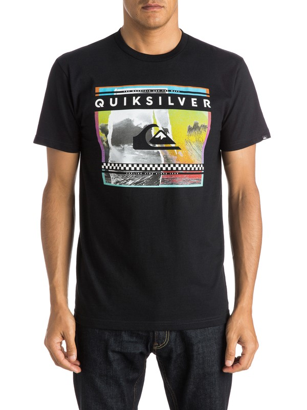0 Sprayed Out Tee  AQYZT03804 Quiksilver