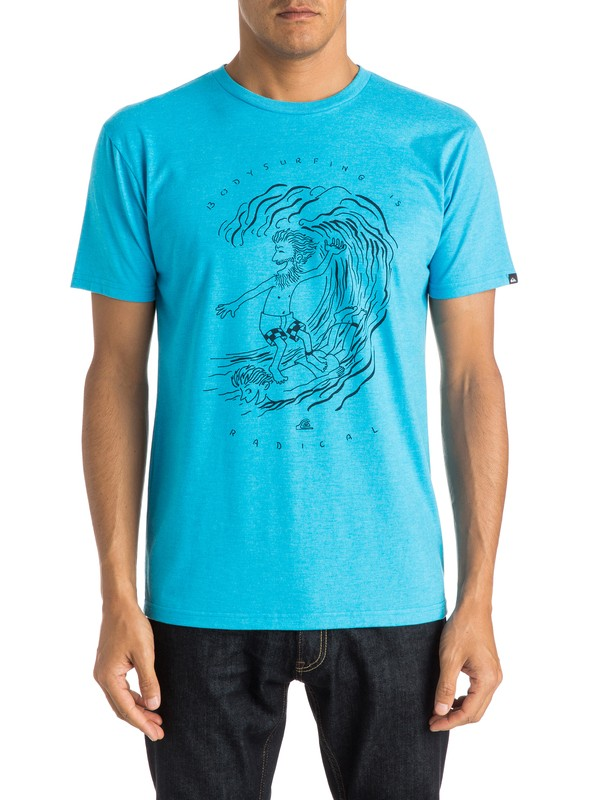 0 Radical Surfing Modern Fit Tee  AQYZT03809 Quiksilver