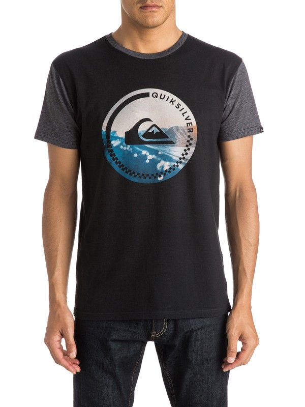 0 More Core Modern Fit Tee  AQYZT03819 Quiksilver
