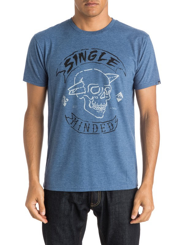 0 Single Minded T-Shirt  AQYZT03997 Quiksilver
