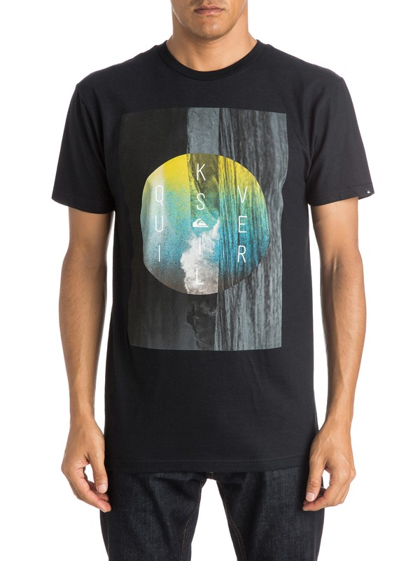 0 Vertical Drop T-Shirt  AQYZT04009 Quiksilver