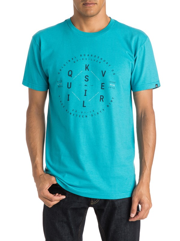 0 Run T-Shirt  AQYZT04010 Quiksilver