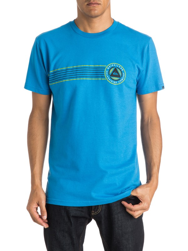0 Plaid The Surf T-Shirt  AQYZT04013 Quiksilver