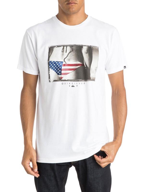 0 Buns USA T-Shirt  AQYZT04016 Quiksilver