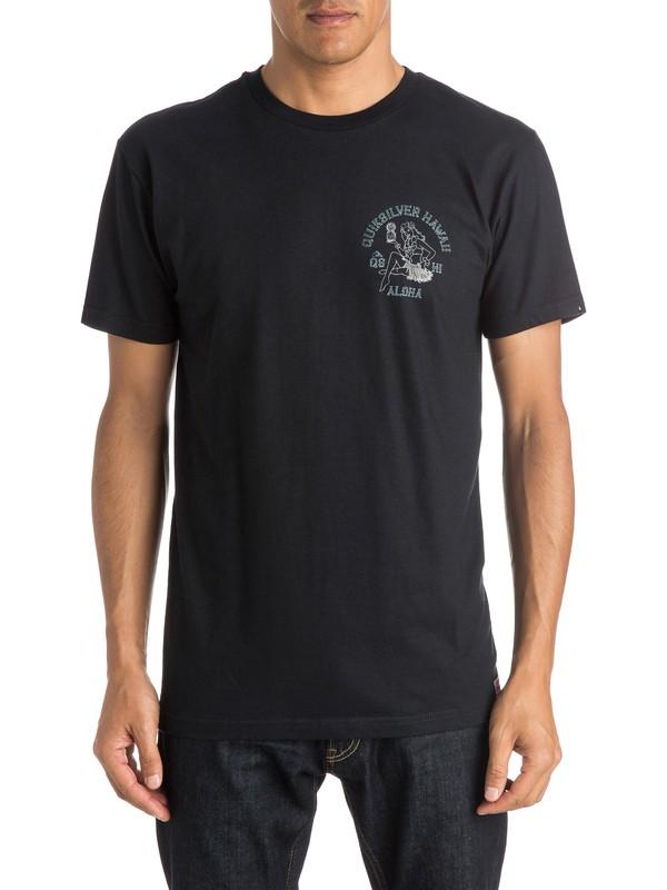 0 Hula Pineskull T-Shirt  AQYZT04055 Quiksilver