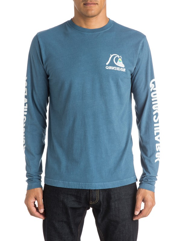 0 Crackle  Long Sleeve T-Shirt  AQYZT04094 Quiksilver