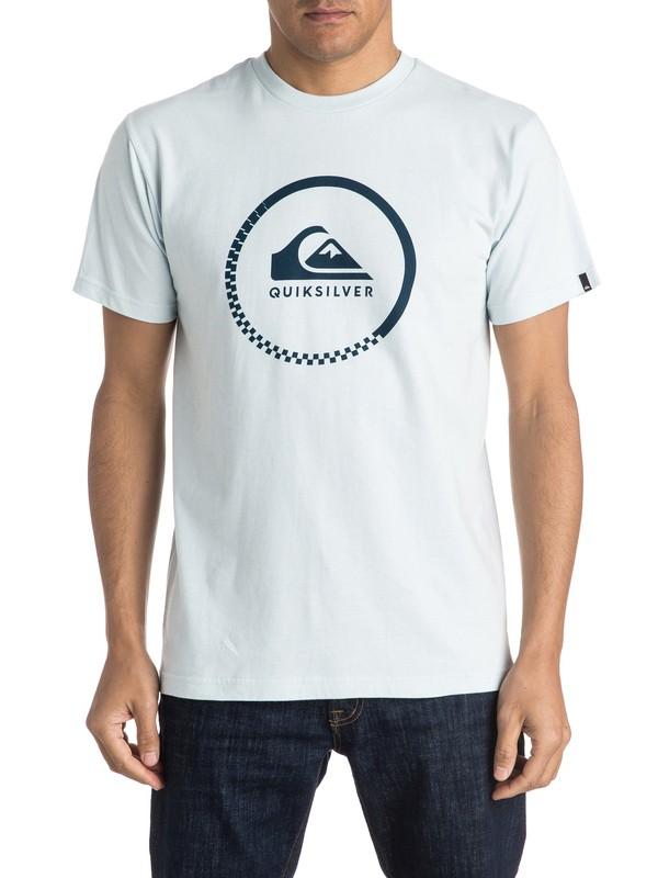 0 Active Logo Tee  AQYZT04096 Quiksilver