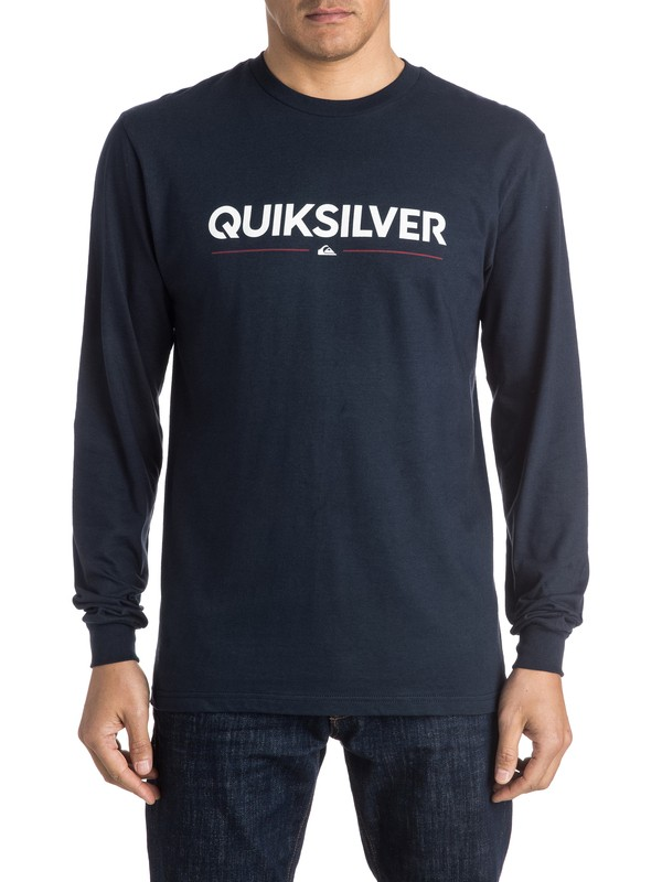 0 Wordmark Long Sleeve Tee  AQYZT04159 Quiksilver