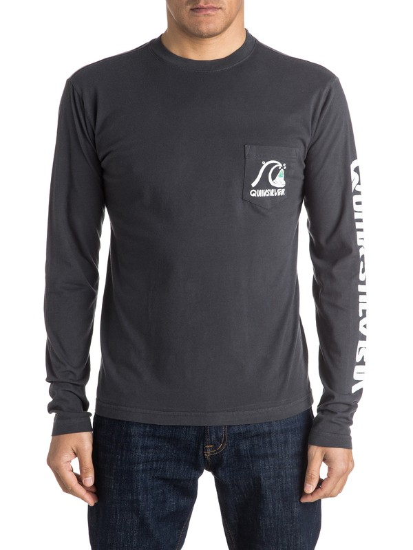 0 Bubble Long Sleeve Tee  AQYZT04170 Quiksilver