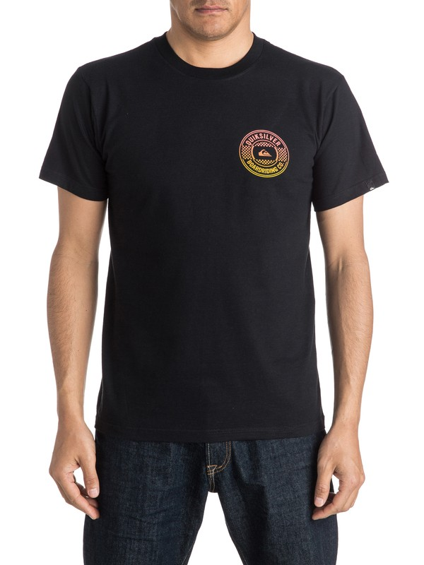 0 Chilly Tee Black AQYZT04287 Quiksilver