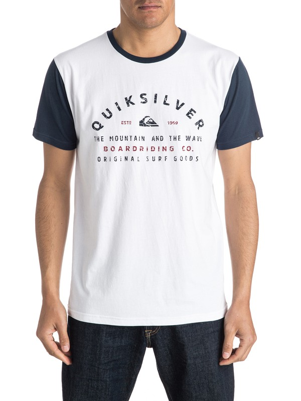 0 North Point Tee  AQYZT04302 Quiksilver