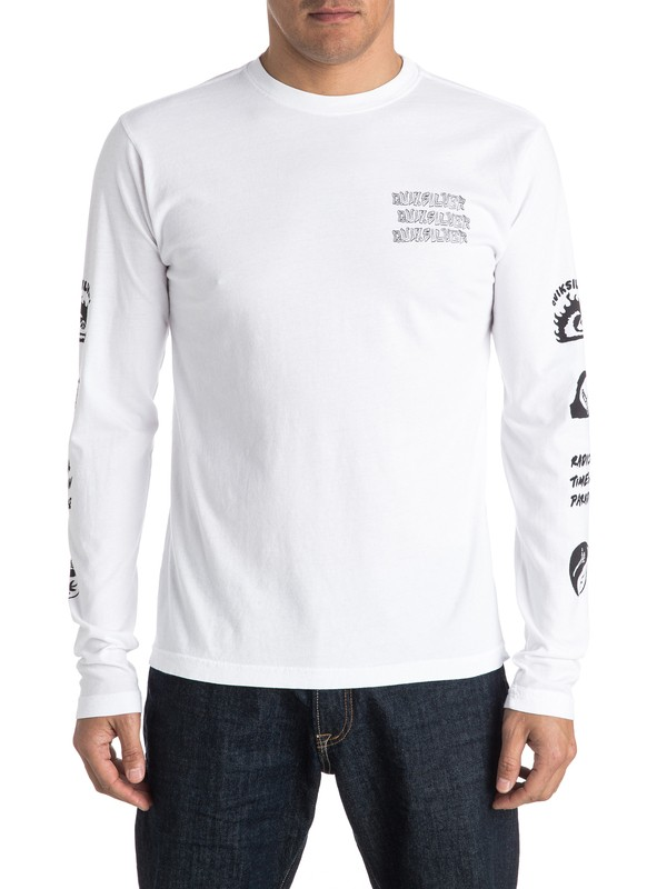 0 Trouble Long Sleeve Tee  AQYZT04318 Quiksilver
