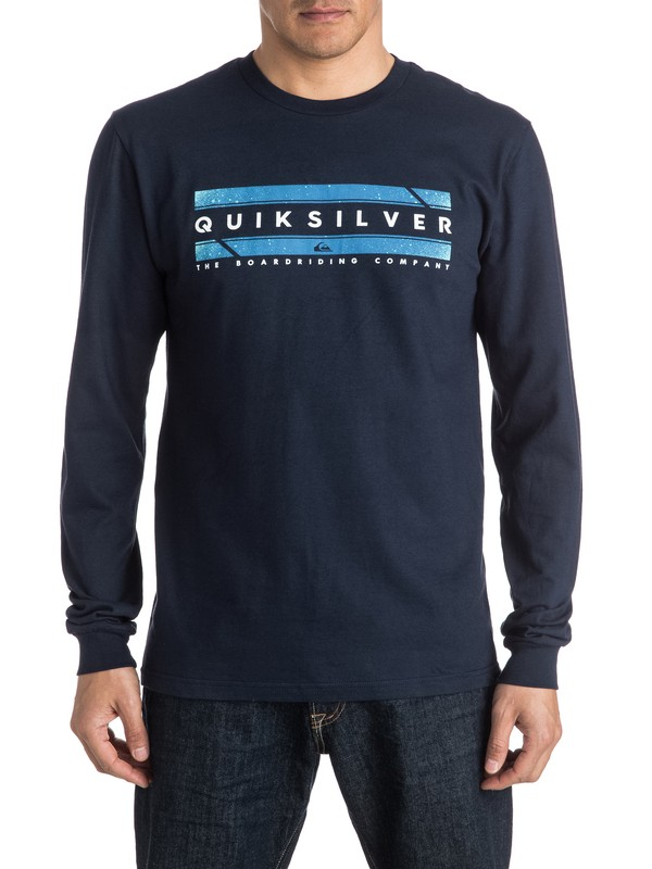 0 In Da Box Long Sleeve Tee  AQYZT04338 Quiksilver