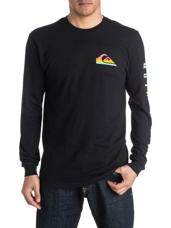 0 New Neon Long Sleeve Tee  AQYZT04339 Quiksilver