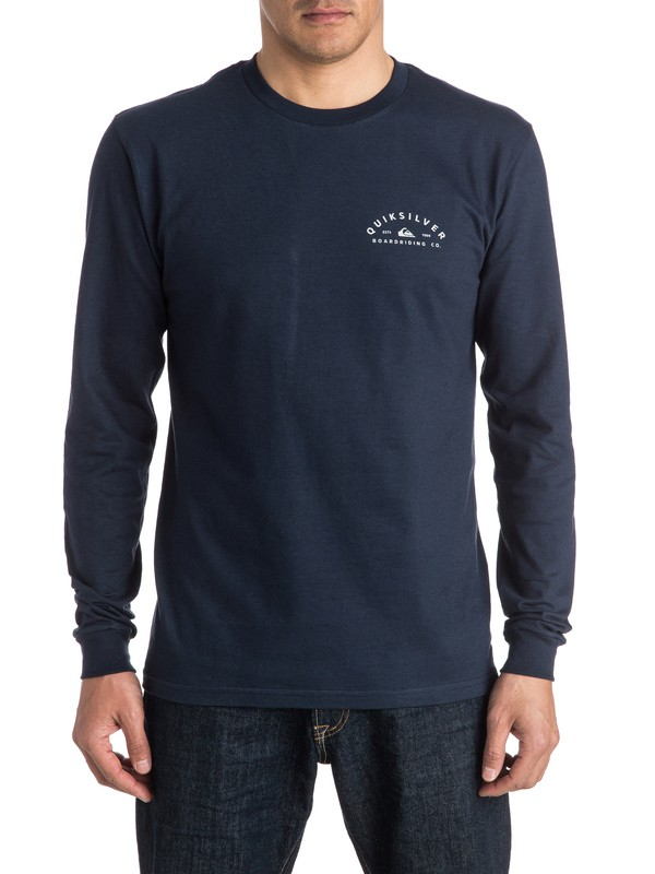 0 North Long Sleeve Tee  AQYZT04341 Quiksilver