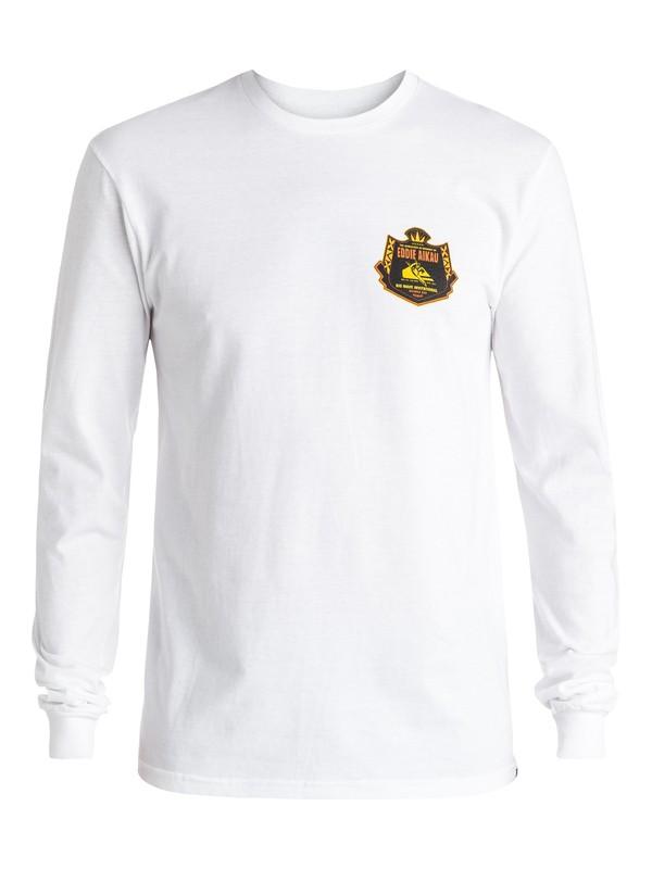 0 Eddie Emblem Long Sleeve Tee  AQYZT04358 Quiksilver