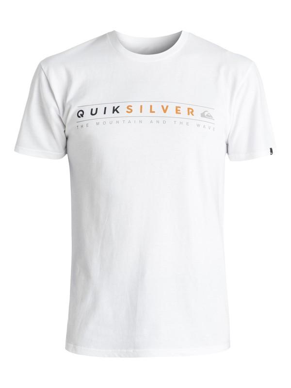0 Always Clean Tee White AQYZT04399 Quiksilver